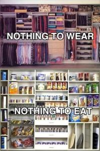 Nothing-to-wear-nothing-to-eat